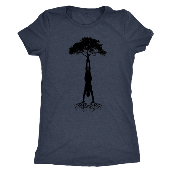 HandStand Tree Tee Triblend Womens