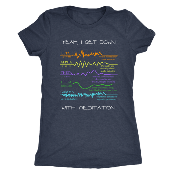 Meditation T Triblend Womens