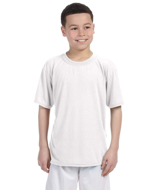 Gildan Youth Performance® 5 oz. T-Shirt ... White