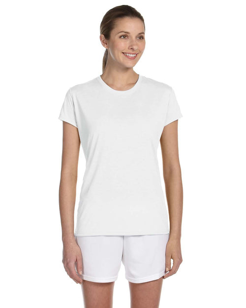 Gildan Ladies' Performance® 5 oz. T-Shirt ... White