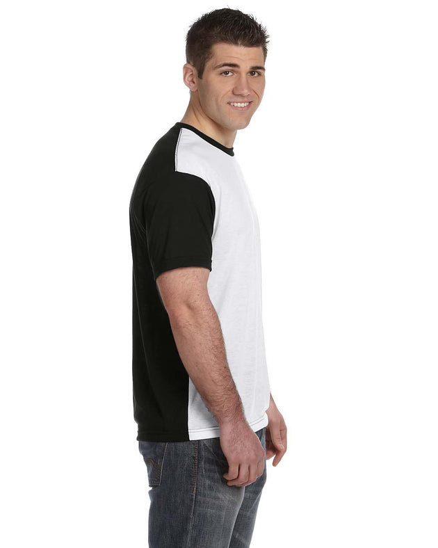 S1902 Sublivie Polyester Blackout T-Shirt