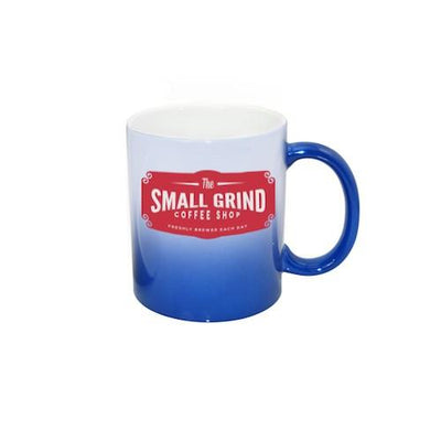 Color-Changing 11oz Ceramic Mug -- Blue