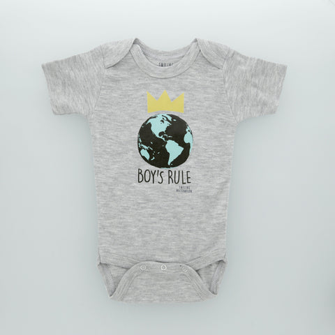 Boys Rule the World Bodysuit