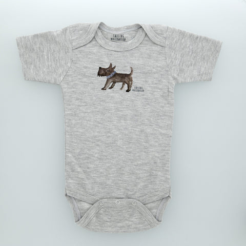 Scotty Dog Bodysuit