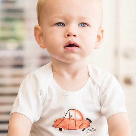 Orange Beetle Car Bodysuit