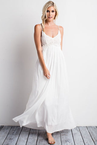 Angie Backless Maxi