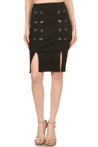 Betsy Lace Up Skirt