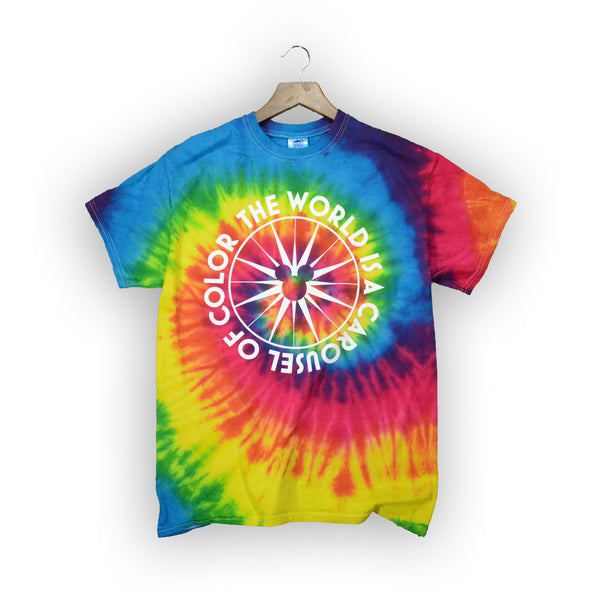 World of Color Tie Dye Tee