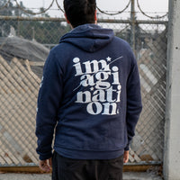 Imagination Zip-Up Hoodie