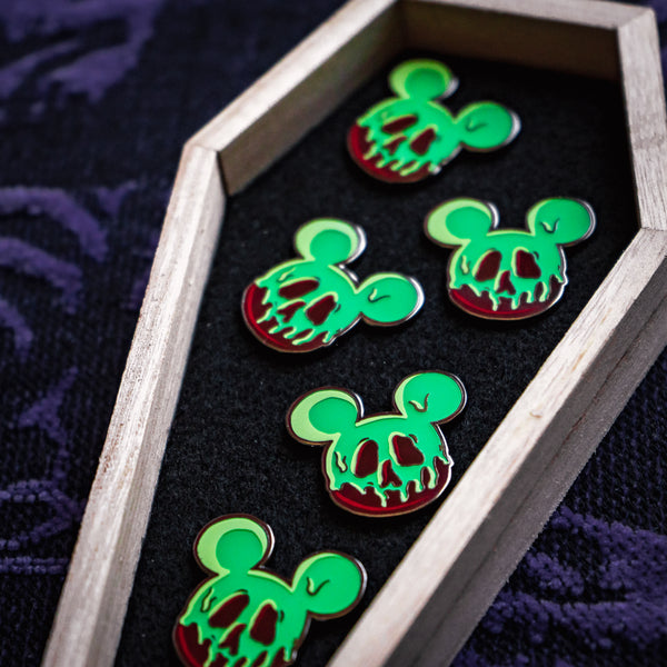 Poison Mouse Enamel Pin