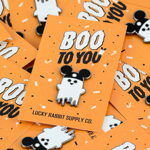 Lil Fright Boo To You Enamel Pin