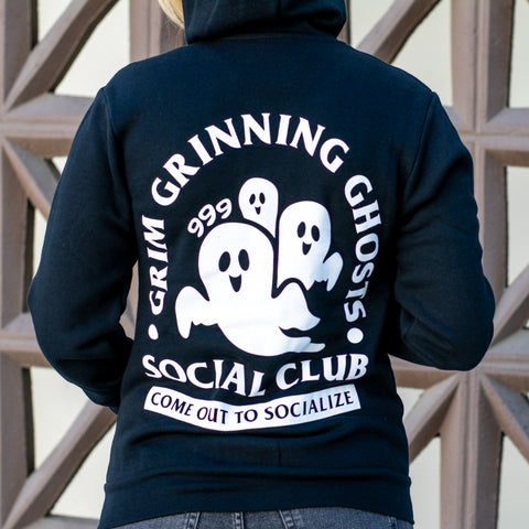 Grim Grinning Ghosts Zip-Up Hoodie *PRE-ORDER*