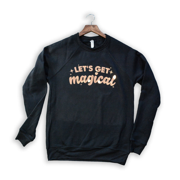 Let's Get Magical Crew Pullover