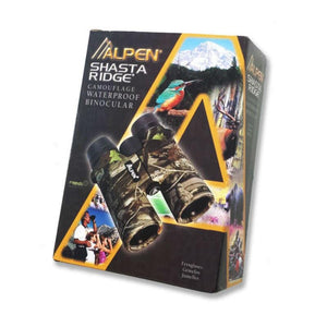 Alpen Shasta Ridge Camo 10x42 Binoculars in box