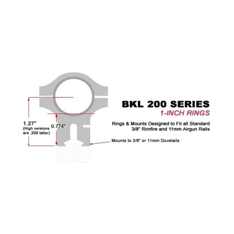BKL-200 Series sizing