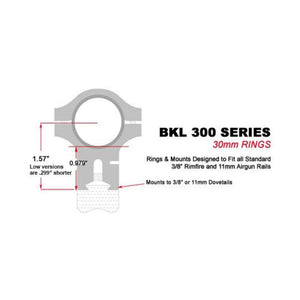 BKL-300 Series sizing