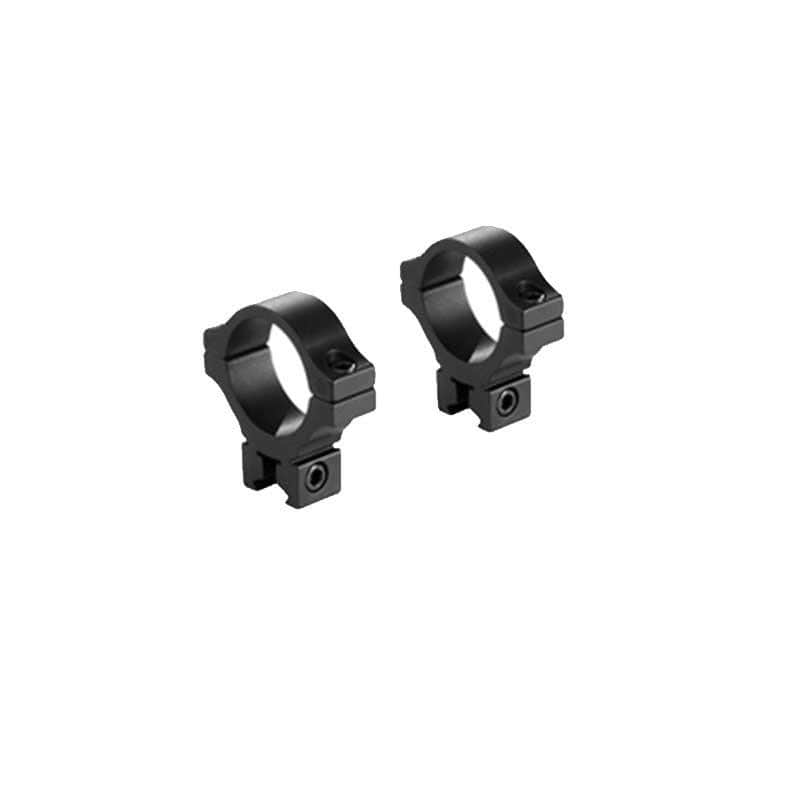 BKL Technologies BKL-303L 30mm Dovetail Low Rings - Black