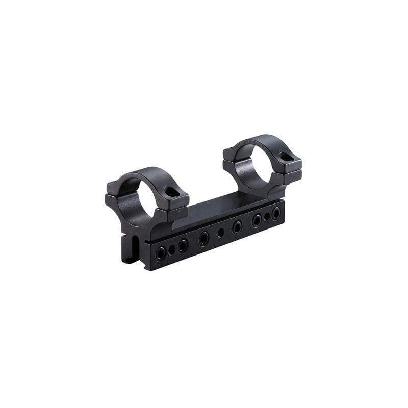 "BKL Technologies BKL-260 1 inch, 1 piece 4"" Long Unitised Dovetail Mount - Black"