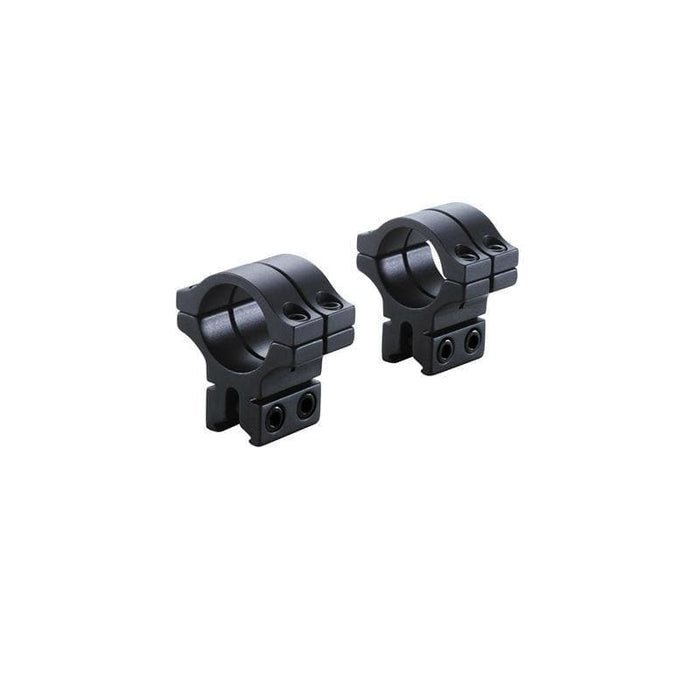 BKL Technologies BKL-263 1inch Double Strap Dovetail Rings (Medium or High, Black or Silver)