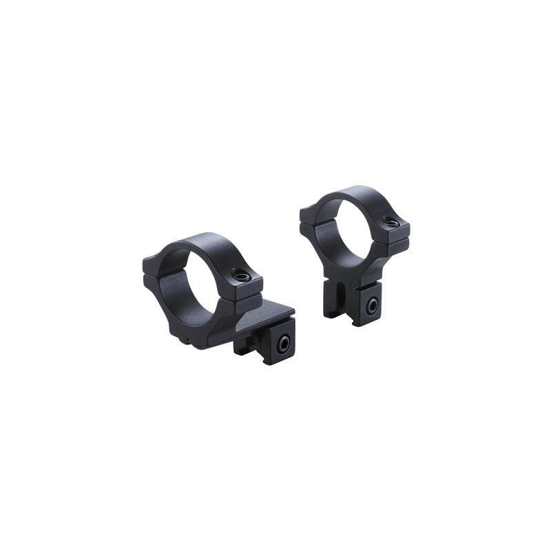 BKL Technologies BKL-274 1inch Offset Dovetail Extension Rings - Black