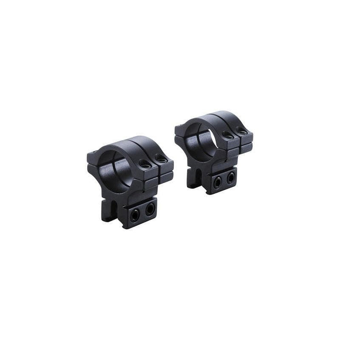 BKL Technologies BKL-301 30mm Double Strap Dovetail Rings (Black or Silver)