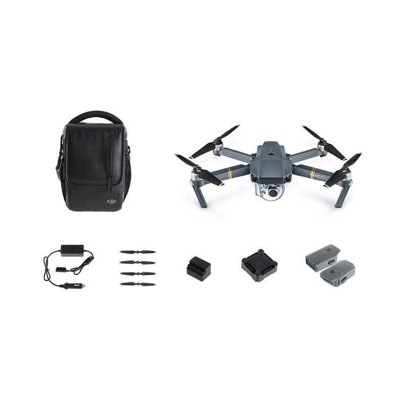 DJI Mavic Pro Drone Fly More Combo - What's included