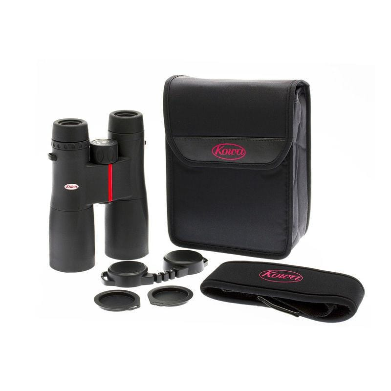 Kowa SV-42 10x42 Binoculars with accessories