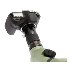 Kowa TSN-PZ Digiscoping SLR Camera Adapter in use