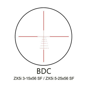 Minox Illuminated BDC Reticle for ZX5 3-15x56 Riflescope