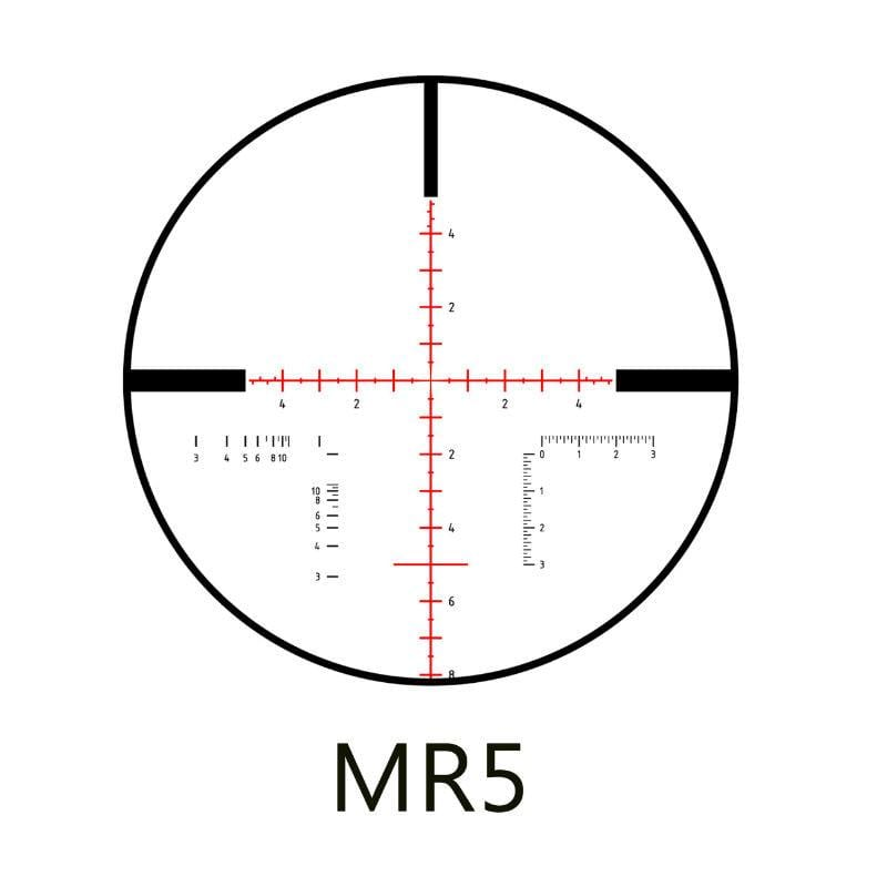 Minox ZP 3-15x50 Tactical Riflescope with MR2, MR5 or
