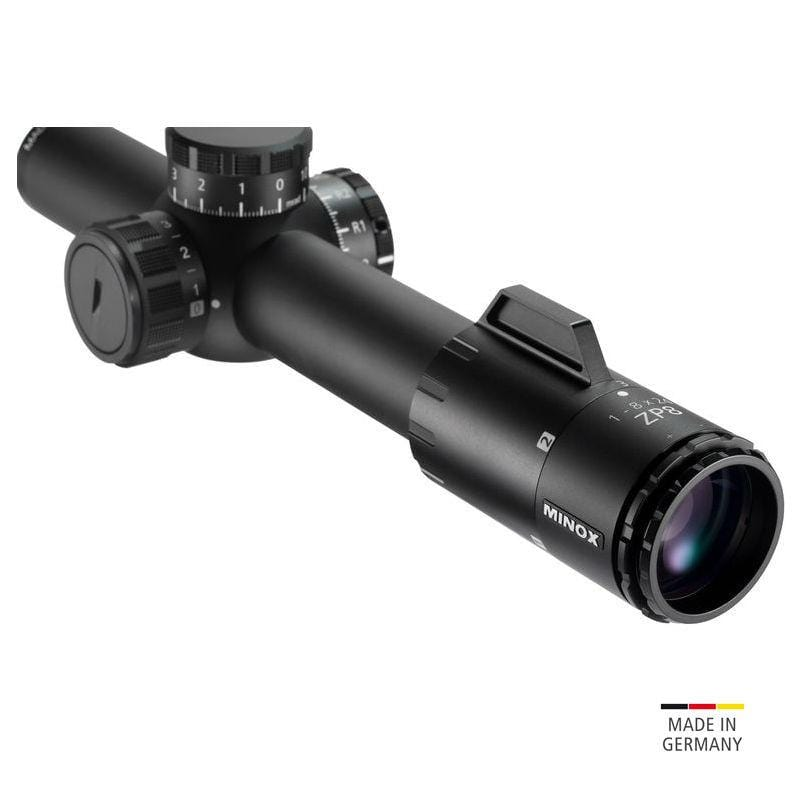 Minox ZP 1-8x24 Tactical Riflescope - front view