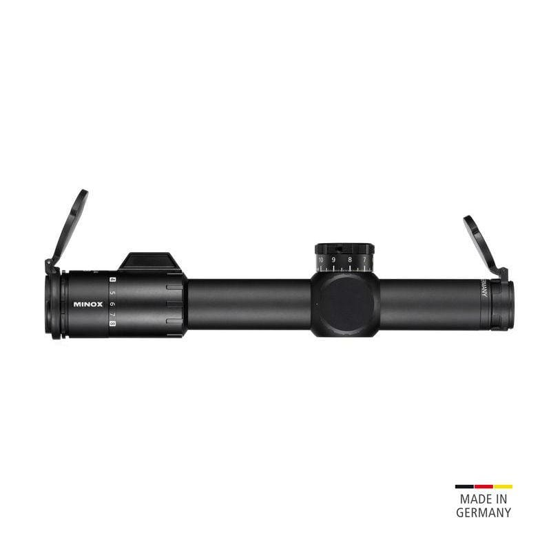 Minox ZP 1-8x24 Tactical Riflescope - lens caps