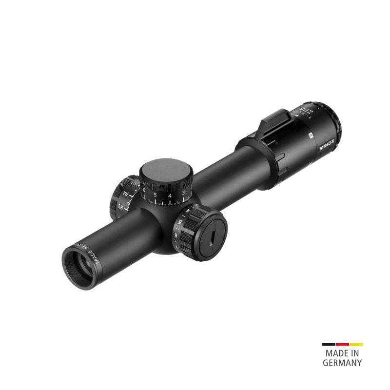 Minox ZP 1-8x24 Tactical Riflescope - rear view