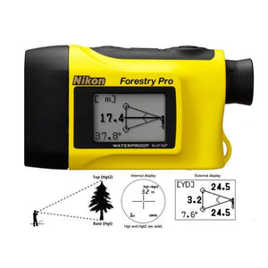 Nikon Forestry Pro Laser Rangefinder with screen display