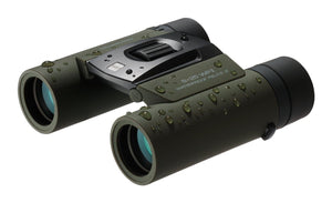 Olympus 8x25 WP II Waterproof Binoculars - side view