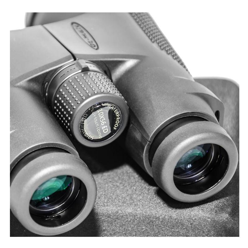 Oz-Mate Seafin Roof 10x56 ED Waterproof Binoculars close up