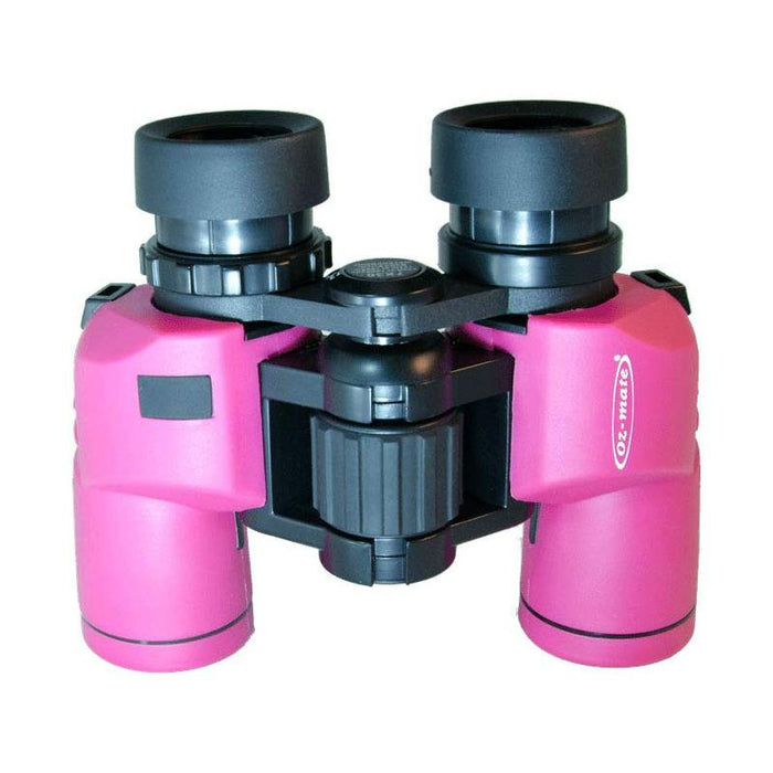 Oz-Mate Skipper Porro 7x30 Pink Waterproof Binoculars