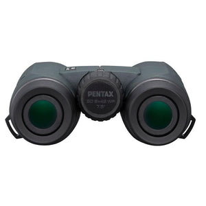 Pentax 8x42 S Series SD WP Binoculars rear view