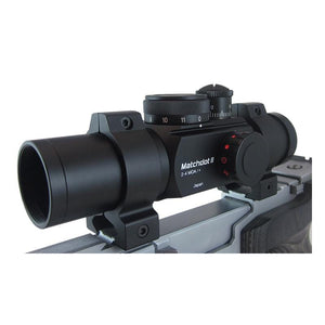 Ultradot Matchdot II 1x30 Red Dot Sight with 2, 4, 6, 8 MOA