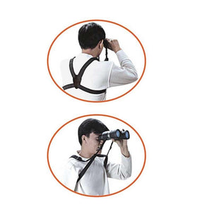 Vanguard Binocular Harness - in use