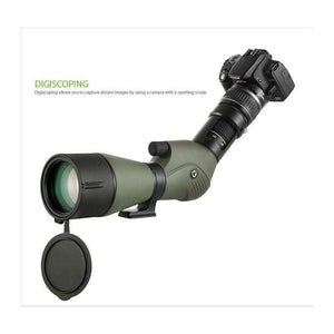 Vanguard Endeavor XF 80A 20-60x80 Spotting Scope digiscoping