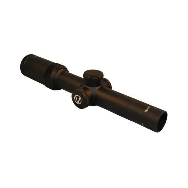 Vixen VIII Series 1-6x24 Riflescope with Illuminated Mil-Dot Reticle