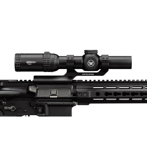 Vortex Strike Eagle 1-6x24 Riflescope with AR-BDC Illuminated Reticle mounted