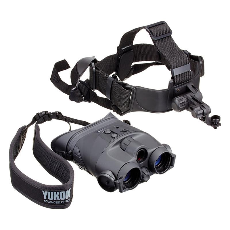 Yukon 1x24 Tracker Night Vision Goggles with Head Mount disconnected