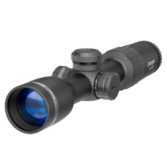 Yukon Jaeger 1.5-6x42 Riflescope with illuminated T01i reticle