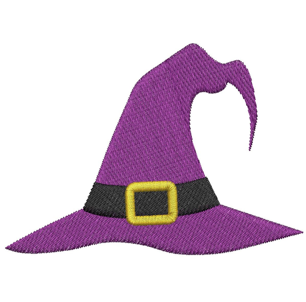 Witch Hat - Embroidstock