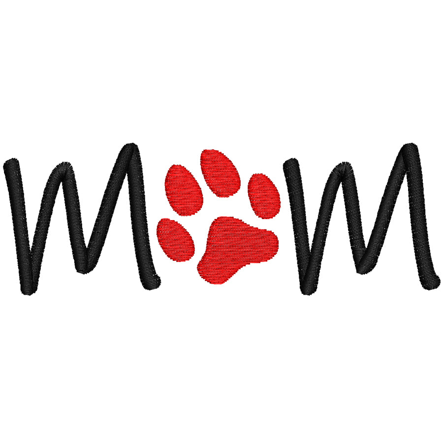 Mom Dog Paw