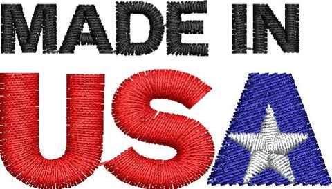 Made in the USA Embroidery Design - Embroidstock