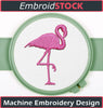 Image of Flamingo Clip art - Embroidstock