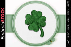 Four Leaf Clover - Embroidstock